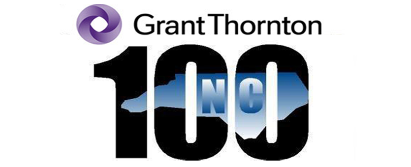 The Grant Thornton North Carolina 100 list logo